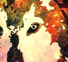 Night Wolf Sticker