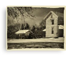 The Dilapidated Shed Canvas Print