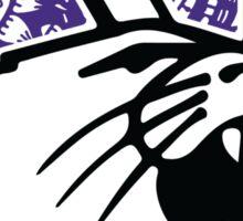 Northwestern Zentangle Logo Sticker