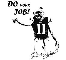 Julian Edelman  by trevorhelt