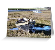 Alnmouth Wreck Greeting Card