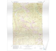 USGS Topo Map Oregon China Cap 279345 1993 24000 Poster