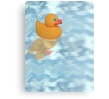 rubber duck Metal Print