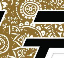 Purdue Zentangle Logo Sticker