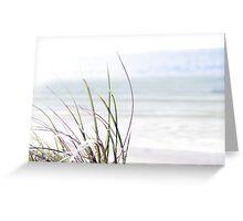 sand dune grass Greeting Card
