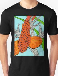 Blue Dot Grouper in Coral T-Shirt