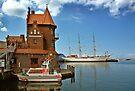 MVP64 Stralsund Harbour & Gorch Fock l, Germany. by David A. L. Davies