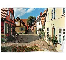 MVP63 Heilgeistkloster, Stralsund, Germany. Poster