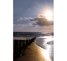 shore breaks Photographic Print