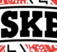 Nebraska Zentangle Logo Sticker