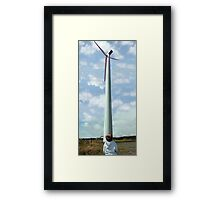 small and tall Framed Print