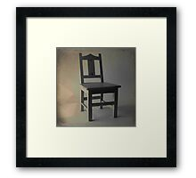 Chair By The Window Framed Print