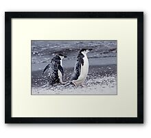 Call this a Beach Holiday???  Next time I'm going to Margate... Framed Print