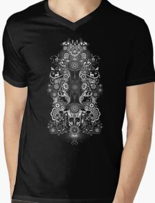 The way the music makes me feel.  Mens V-Neck T-Shirt