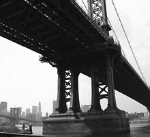 Manhattan Bridge by Samantha Jones