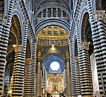 In Awe-Siena, Tuscany by Deborah Downes
