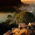 Badami Town V by Vikram Franklin