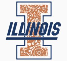 Illinois Zentangle Logo by emmytyga
