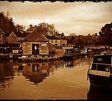 Bradford on Avon Wharf, Wiltshire, UK by buttonpresser