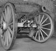 Old Cannon In Fort Point by Svetlana Day