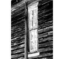Tall, Skinny Window Photographic Print
