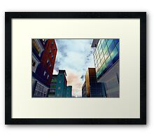 Highrise Row Framed Print
