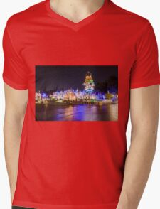 Amazing Small World Mens V-Neck T-Shirt