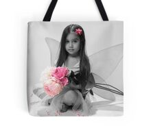 Fairy with Flowers Tote Bag