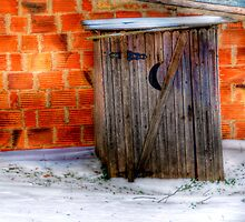 Outhouse - Springtown, Texas by jphall