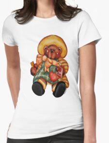 B is 4Bear Womens Fitted T-Shirt