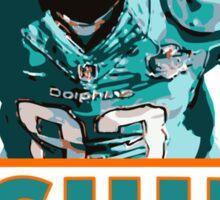 Ndamukong Suh - Miami Dolphins Sticker