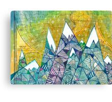 Mountainscape No. 3 Canvas Print