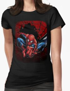 The Amazing Spidey Womens Fitted T-Shirt