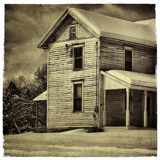 The Farmhouse by Aaron Campbell