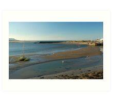 Barmouth Harbour No4 Art Print