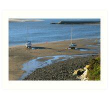 Barmouth Harbour No 6 Art Print