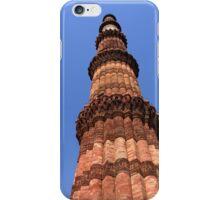 Qutab Minar New Delhi India iPhone Case/Skin