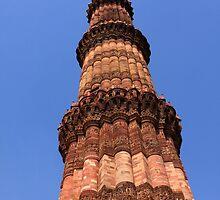 Qutab Minar New Delhi India by aidan  moran