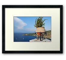 Spilia bay, Meganissi island Framed Print