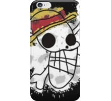 One Piece Strawhat's first draft flag iPhone Case/Skin
