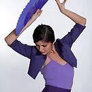 Flamenco dancer 1 by Aleksandar Topalovic