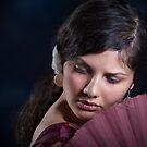 Flamenco dancer 5 by Aleksandar Topalovic