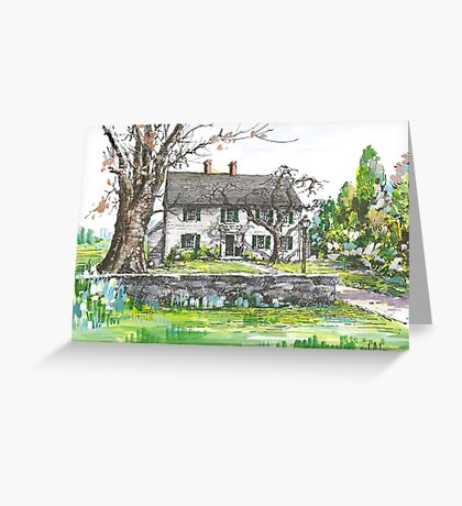 Sturgis Library by H. C. Lewis Greeting Card