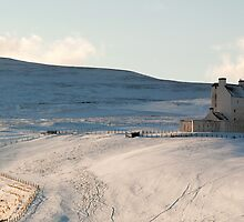 Corgarff Castle in Winter by Panalot
