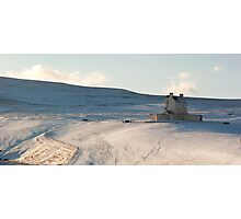 Corgarff Castle in Winter Photographic Print