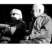 The Boys and the evening chat.. Photographic Print