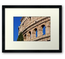 Roman Holiday at the Coliseum Framed Print