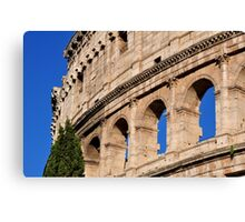 Roman Holiday at the Coliseum Canvas Print