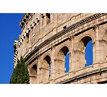 Roman Holiday at the Coliseum Photographic Print