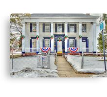 Southern Style House in Hempstead NY Canvas Print